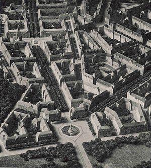 Munkkiniemi - Eliel Saarinen's plan for an avenue in Munkkiniemi. Photography of the model.