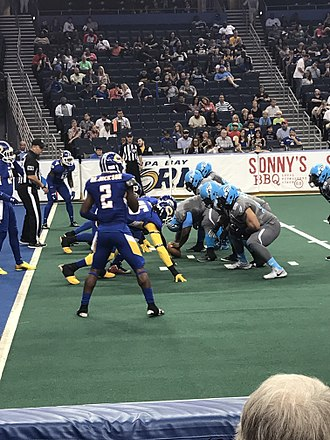2017 Philadelphia Soul season - The Soul playing the Tampa Bay Storm on April 15