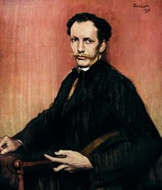 Ein Heldenleben - 1898 Portrait by Fritz Erler.