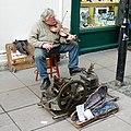 Street Musician, Burton Street, Bath - geograph.org.uk - 717974.jpg