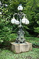 Street light, East Gardens of the Imperial Palace - Tokyo, Japan - DSC09018.JPG