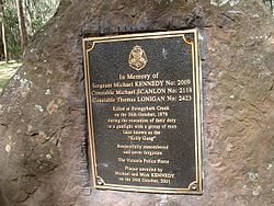 Photo of Brown plaque number 11621