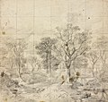 Study for 'Cornard Wood' Thomas Gainsborough circa 1748.jpg