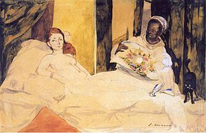 Study of olympia manet.jpg