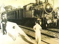 Sud Express train at the Estoril Railway Station.jpg