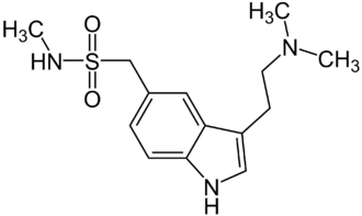 Triptan - Image: Sumatriptan