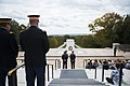 Supreme Commander of Swedish Armed Forces Gen. Micael Bydén Conducts a Public Wreath-Laying at the Tomb of the Unknown Soldier (37200282744).jpg
