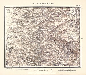 Rammun - Image: Survey of Western Palestine 1880.14
