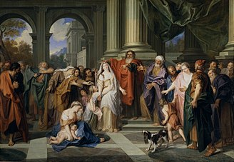 Adultery - Susannah accused of adultery, by Antoine Coypel