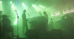 Susanne Sundfør - Sundfør and her band performing at Steinkjerfestivalen in Steinkjer, 2012