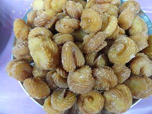 Sweet shells - Image: Sweet gavvalu 27.11.13. (1)