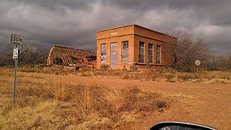Swenson, Texas - Abandoned bank