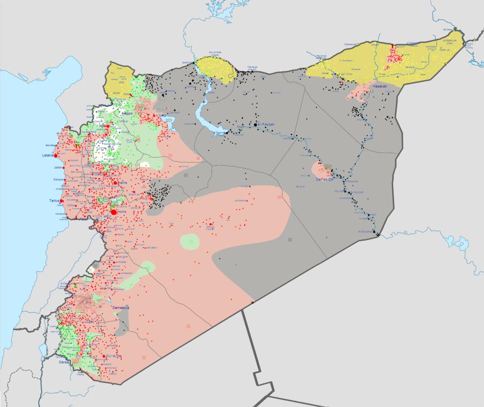 Syrian civil war 03 03 2015