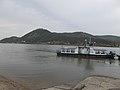 Sződ (ship, 1977) and Visegrád, 2018 Nagymaros.jpg