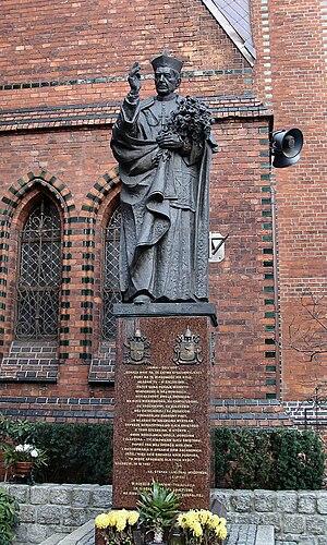 Czesław Dźwigaj - Monument of Stefan Cardinal Wyszyński, in Szczecin, Poland.