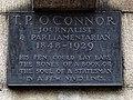 T.P.O'Connor plaque - Chronicle House 72-78 Fleet Street London EC4Y 1HY.jpg