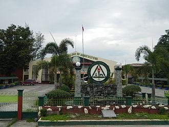 Tarlac Agricultural University - TCA facade (Camiling, Tarlac)