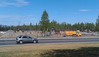 Tanana Chiefs Conference - Image: TCC CAIHC Construction Fairbanks Alaska