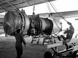 TF33 engine at Davis-Monthan AFB 1984.JPEG
