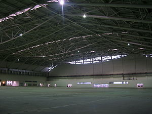 Taipei Nangang Exhibition Center - View of upper hall