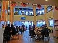 TW 台灣基隆市仁愛區 愛三路 116 Keelung McDonalds Restaurant interior 麥當勞餐廳 visitors n TV set Feb-2013.JPG