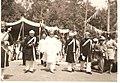 T Madiah gowda with Maharaja Jayachamarajendra Wadiyar.jpg