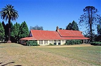 Haly Creek, Queensland - Taabinga Homestead, 2002