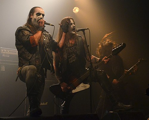 Taake at Throne Fest in Belgium, 2016 Taake Throne Fest Kuurne 15 05 2016 03.jpg