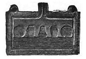 Apepi (pharaoh) - Offering table with the praenomen Aaqenenre (Cairo CG23073)
