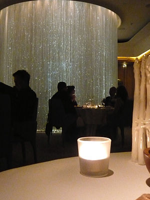 Alain Ducasse at the Dorchester - The Table Lumière at Alain Ducasse at the Dorchester