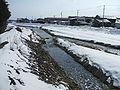 Taduki-gawa River at Kitakata, Fukushima.jpg