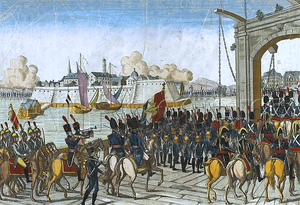 Capitulation of Stettin - Taking of Stettin by French troops in 1806