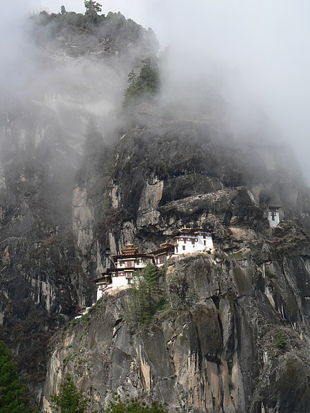 File:Taktshang (Tiger's Nest) Monastery, Paro Valley.jpg