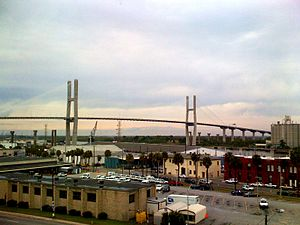 Talmadge Memorial Bridge - Image: Talmadge Bridge