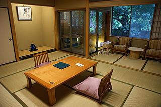 <i>Ryokan</i> (inn) Traditional Japanese inn