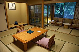 Ryokan (inn) - A room in the Tamatsukuri Onsen