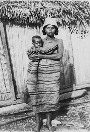 Tanala - Tanala woman and child