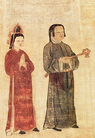 Tangut people - Image: Tangut servants