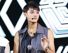 Tao at the EXO The Lost Planet in Jakarta.jpg