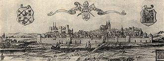 Tartu - The city of Tartu in 1533