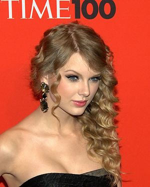 Taylor Swift at the 2010 Time 100.