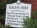 Teach's Hole Historical Marker.jpg