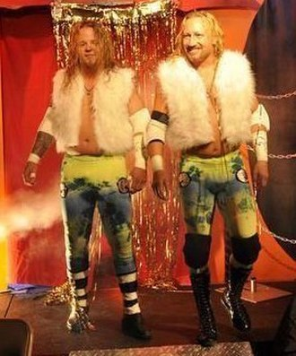 Jerry Lynn - Ram-Jam (Lynn, right, and Grimmy Jam, left)