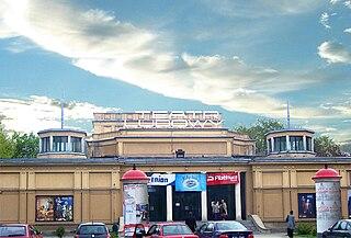 theatre in Kraków, Poland