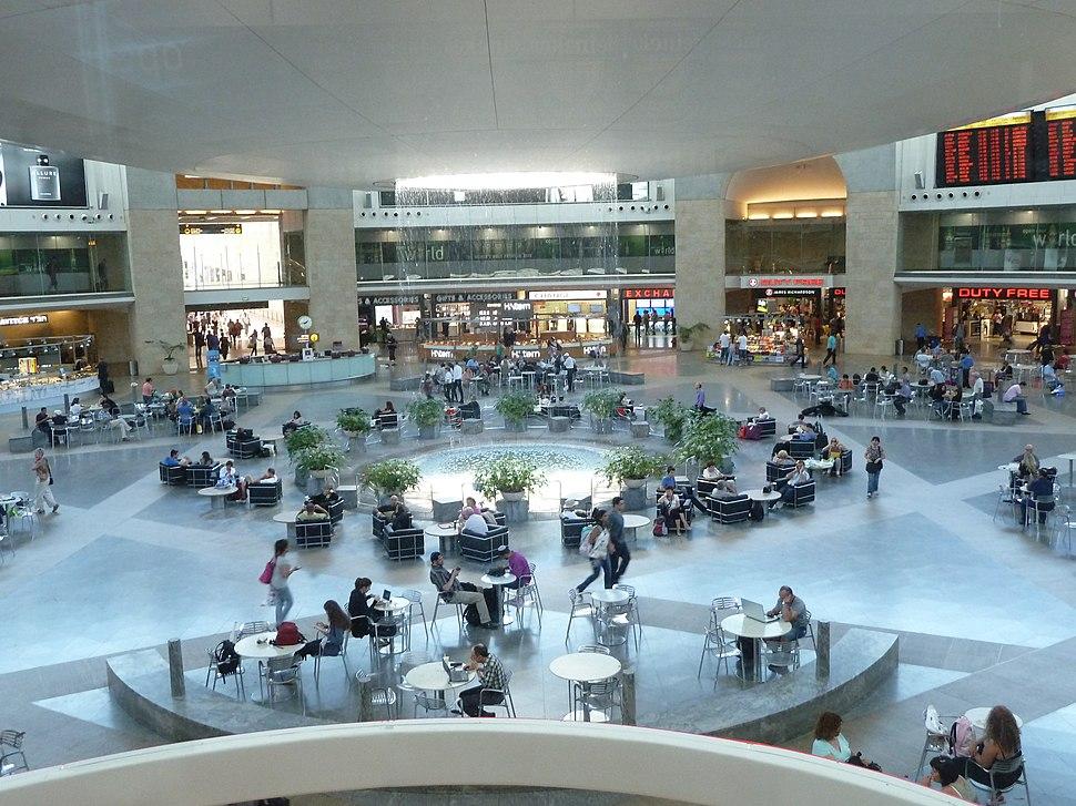 Tel Aviv, Ben Gurion Airport, Departure Hall