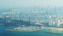Tel Aviv from the Mediterranean