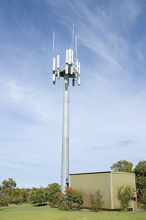 Mobile telephony - Mobile phone tower