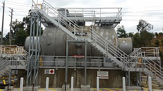 Synchronous condenser - Image: Templestowe Synchronous Condenser 3