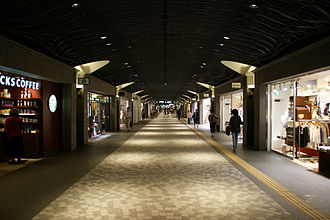 Underground city - Tenjin Underground City in Chūō-ku, Fukuoka, Fukuoka Prefecture, Japan