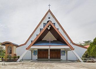 Tenom District - Image: Tenom Sabah Gereja St Anthony Tenom 05